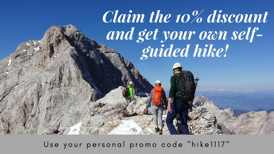 get your self-guided hike